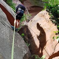 Kletterkurs Vorstieg Heidelberg Fels